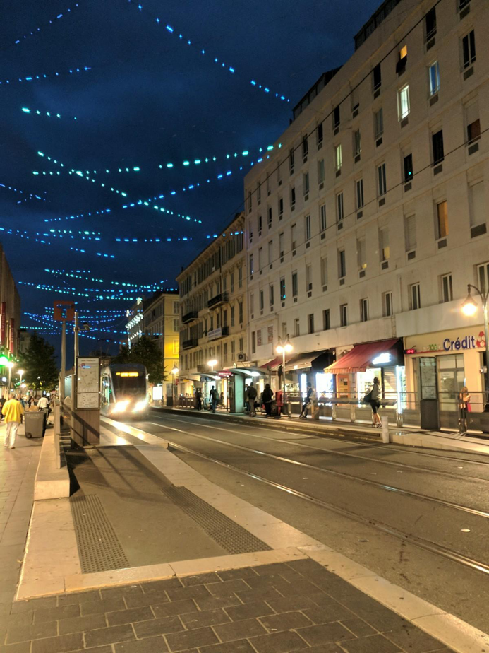 Visit Nice France Evening View