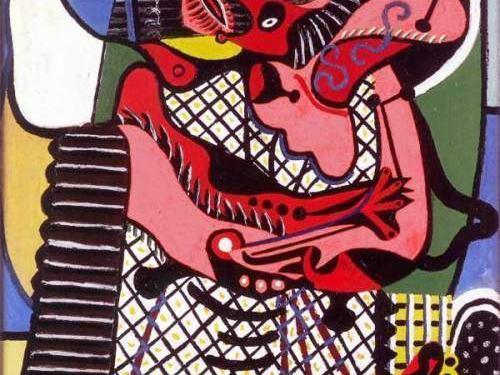 Pablo Picasso, Le Baiser, 1925 Huile sur toile, 130 x 97,7 cm Musée national Picasso, Paris © Agence photo RMN-GP © Succession Picasso, 2017