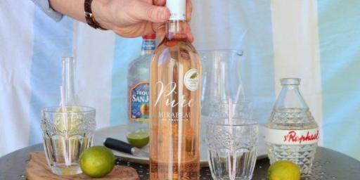 Rosé Margarita Cocktails