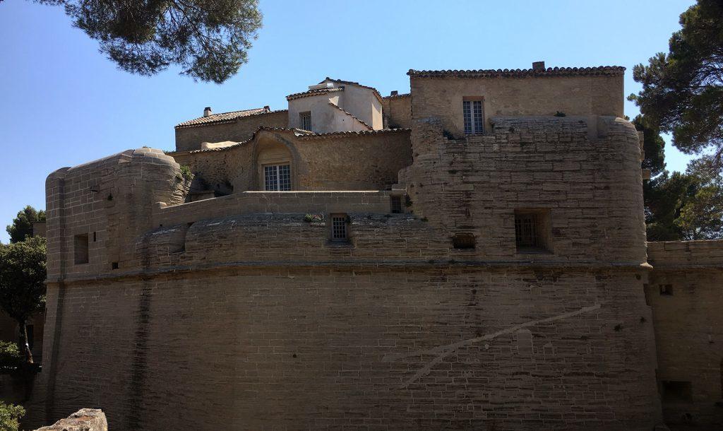 Château de Saumane Vaucluse Fortified Exterior