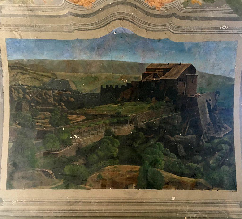 Château de Saumane Painting