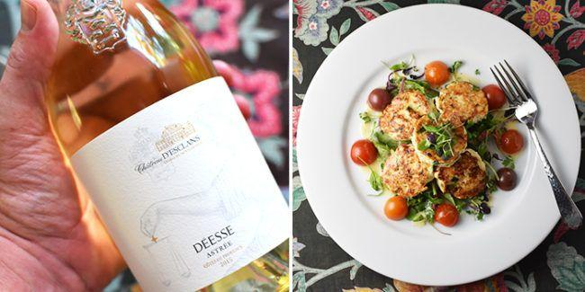 Chateau d'Esclans Crab Cake Recipe Provencal Rolle Wine