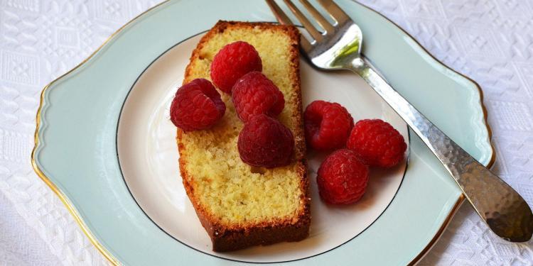 Lemon Lavender Cornmeal Cake Olive OIl Cake