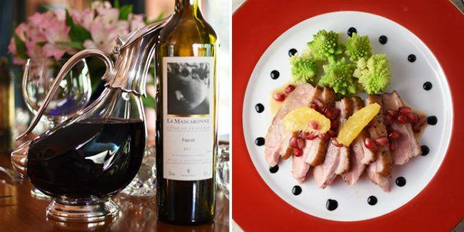 Duck Red Wine Pairing Chateau La Mascaronne