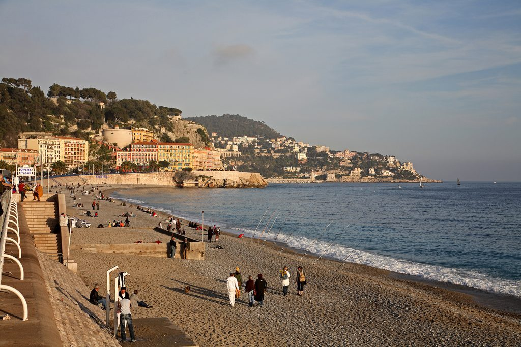 Beautiful Nice Opera Plage Paul Shawcross