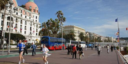 Beautiful Nice Promenade des Anglais Paul Shawcross