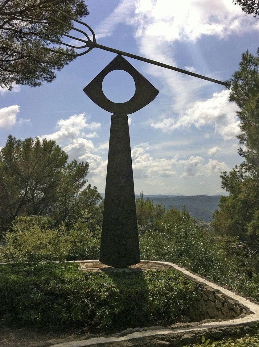 Cote d'Azur outdoor sculpture garden of Musée Maecht Saint-Paul-de-Vence MKSeales