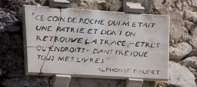 Fontvieille Windmills Alphonse Daudet Quote