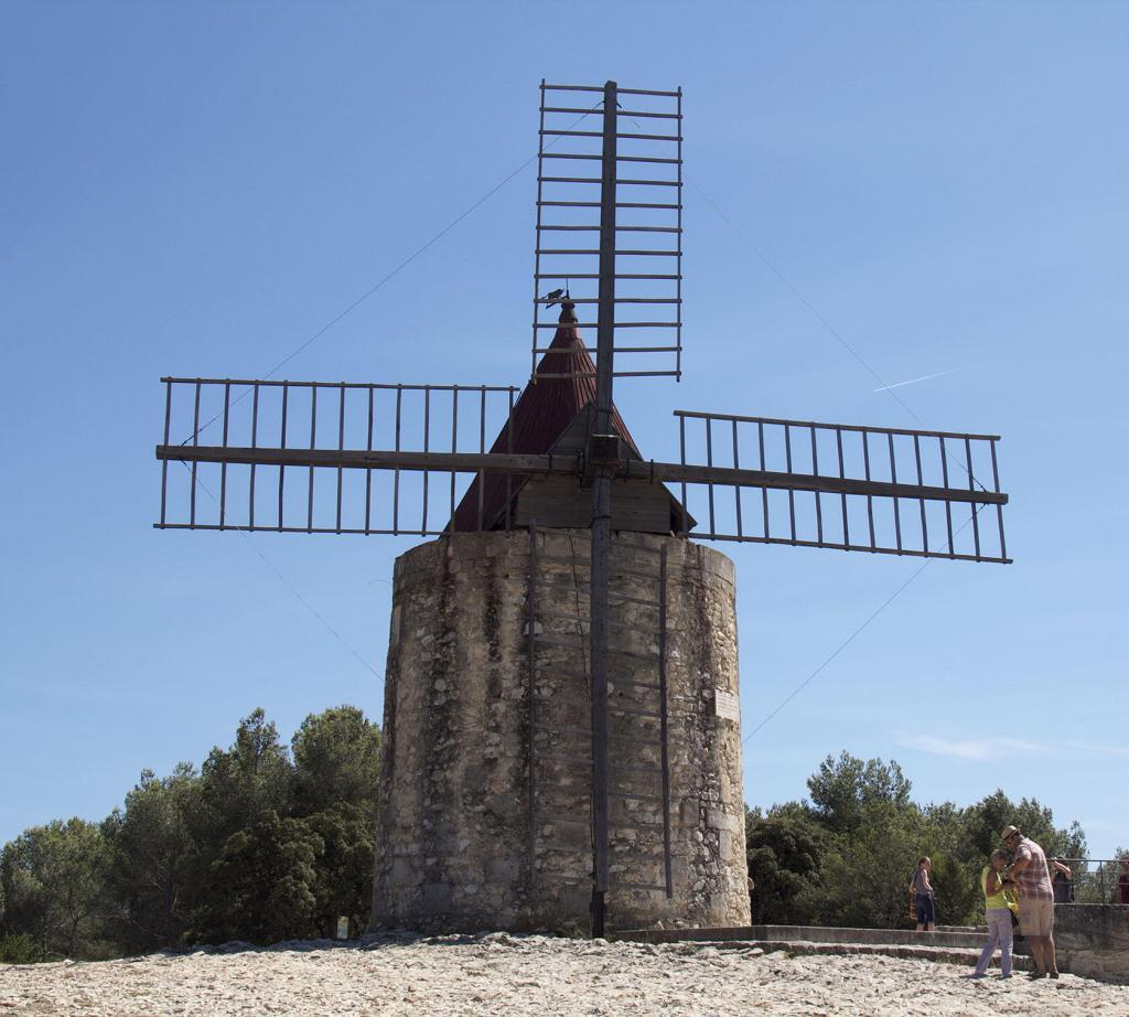 Fontvieille Windmill Moulin