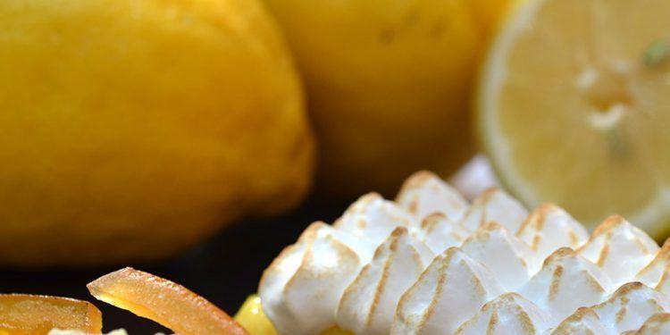 Lemon Tart Tarte au Citron @SipTasteShare
