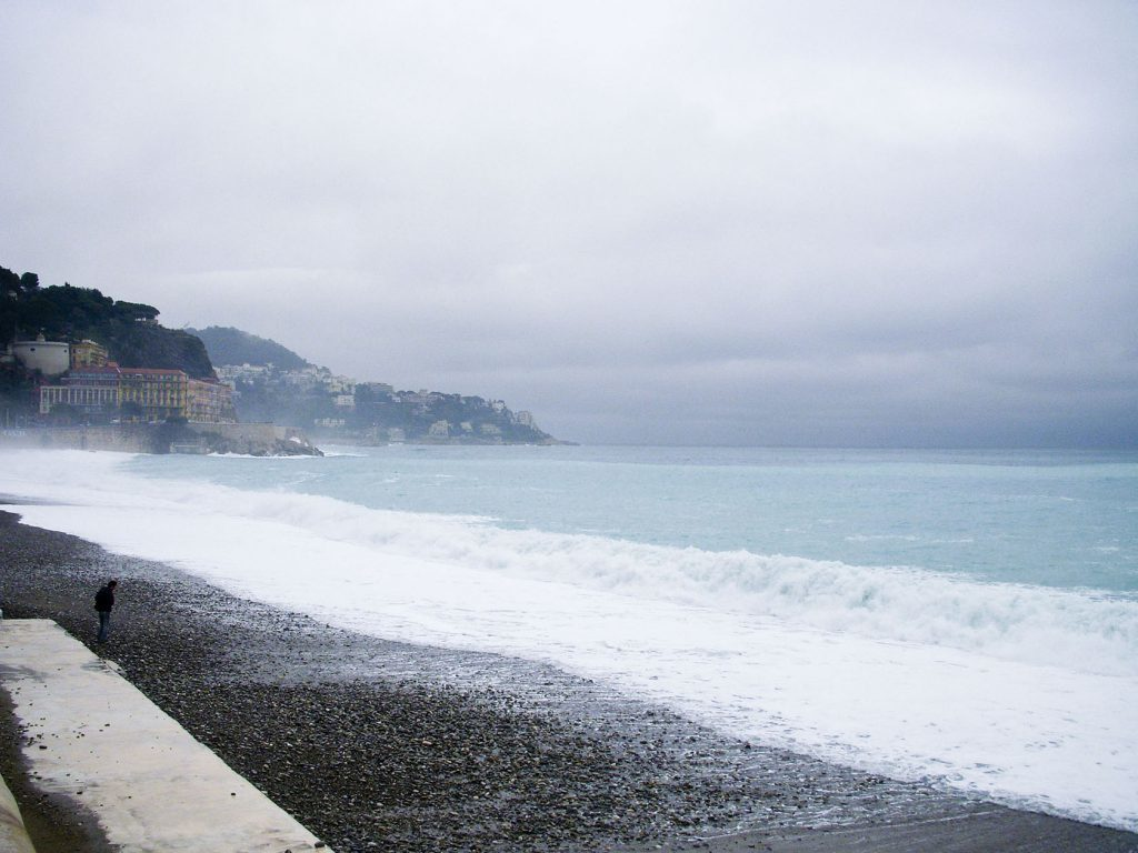 Stark Beauty on a Winter's Day in Nice Cote d'Azur Lifestyle @MKSeales