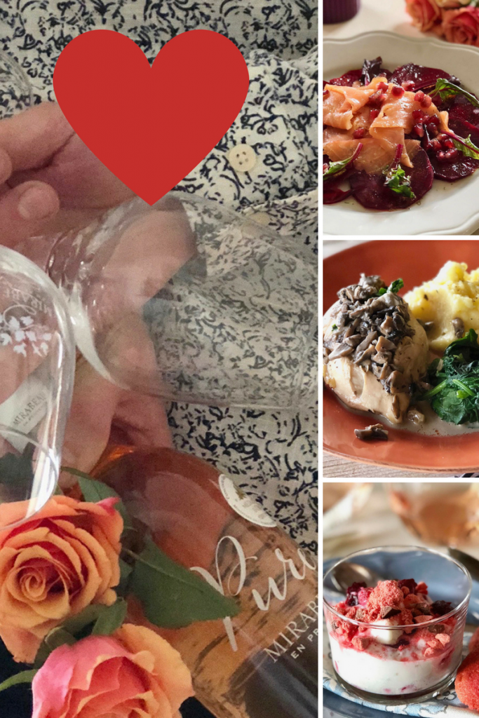 Valentine's Day Menu 2018 Provencal Recipes