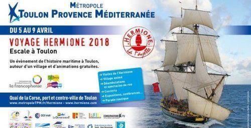 Visit Toulon L'Hermione