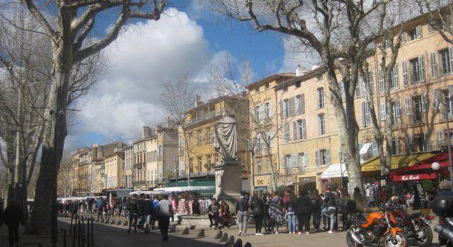 Aix-en-Provence Cours Mirabeau @aixcentric