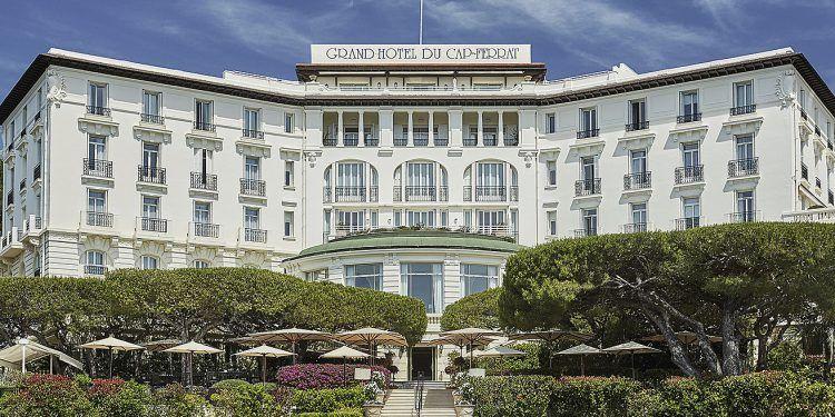 Grand Hôtel du Cap Entrance