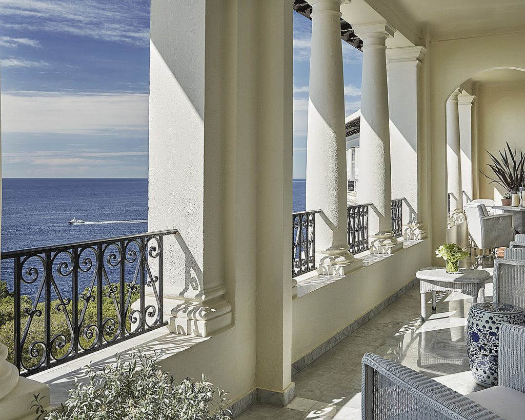 Grand Hôtel du Cap Balcony View