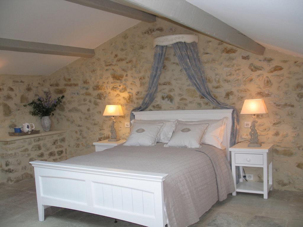 Mas d'Augustine Luxury B&B Guest Bedroom Expat Life