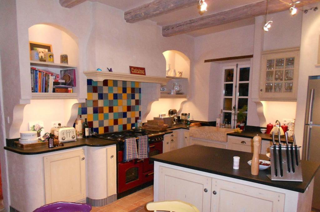 Mas d'Augustine Luxury B&B Kitchen Expat Life
