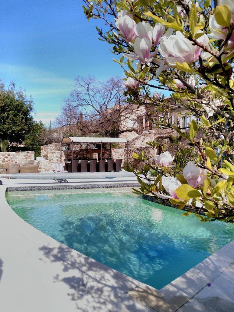 Mas d'Augustine Luxury B&B Pool Expat Life