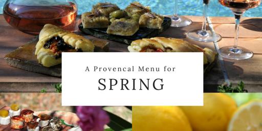 Spring 2018 Provencal Dinner Menu