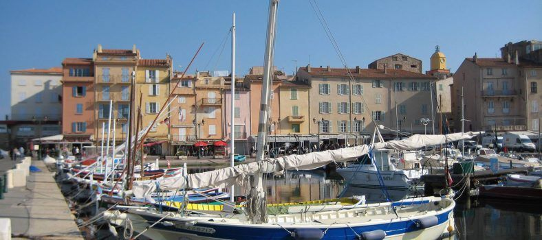 Genuine Provence Experiences St Tropez fishing port – adjacent to the superyachts Jane Dunning