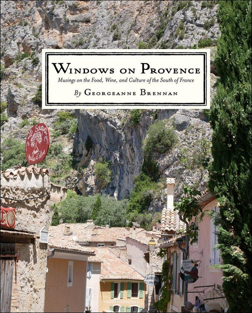 Windows on Provence Book Cover Georgeanne Brennan