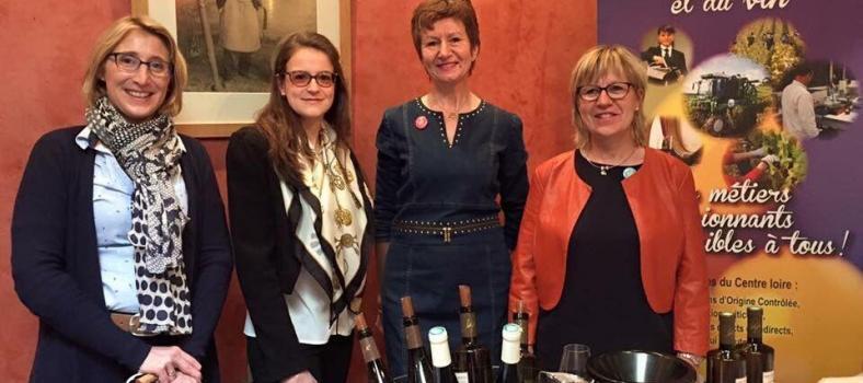 Ladies Wine France dames-de-coeur-de-loire @JillBarth
