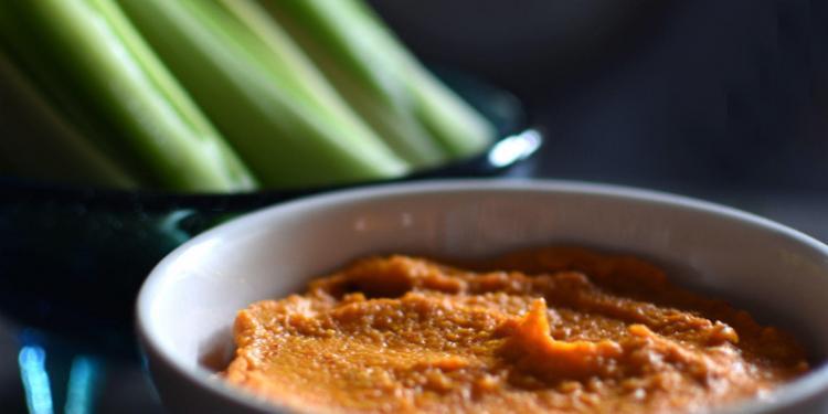 Spicy Carrot Goat Cheese Pâté