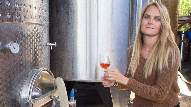 Château Barbebelle Winemaking Director Madeline Herbeau