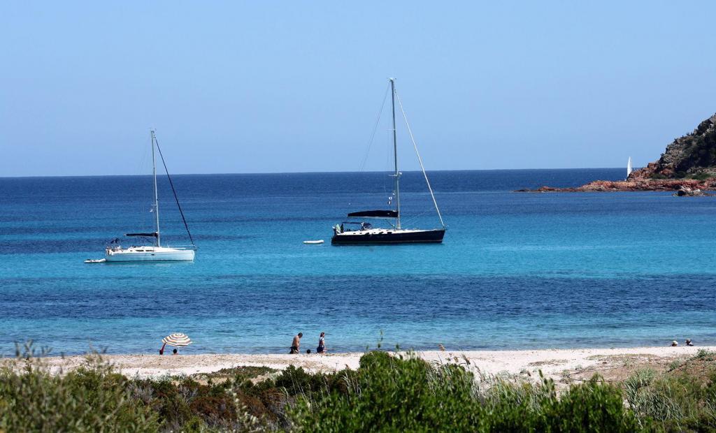 Corsica Bonifacio Beach Views