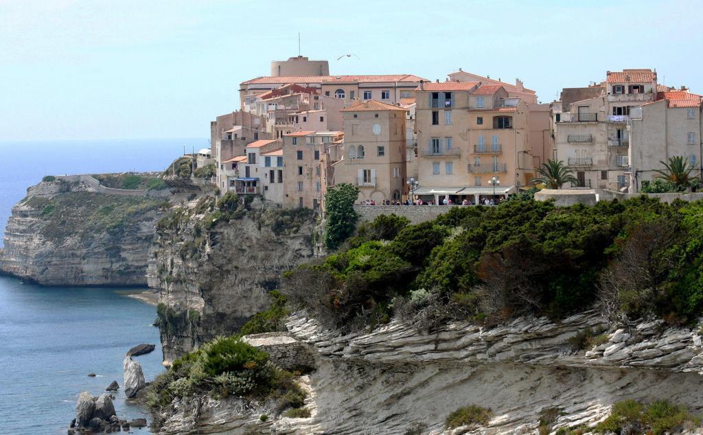 Corsica Bonifacio Town Views
