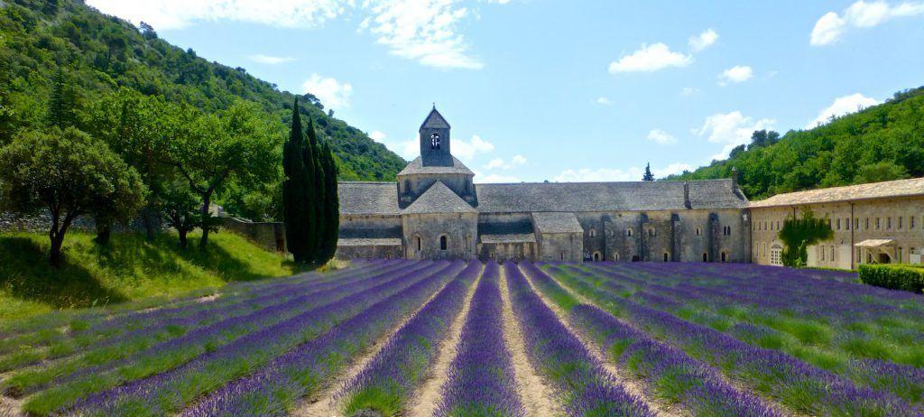 L'Abbaye Notre-Dame de Sénanque, Gordes, Luberon, Provence @ShutrsSunflowers