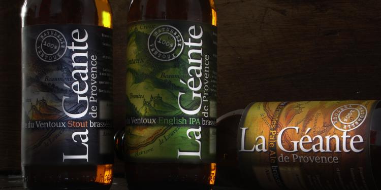 Brantes La Géante de Provence la Bière du Ventoux