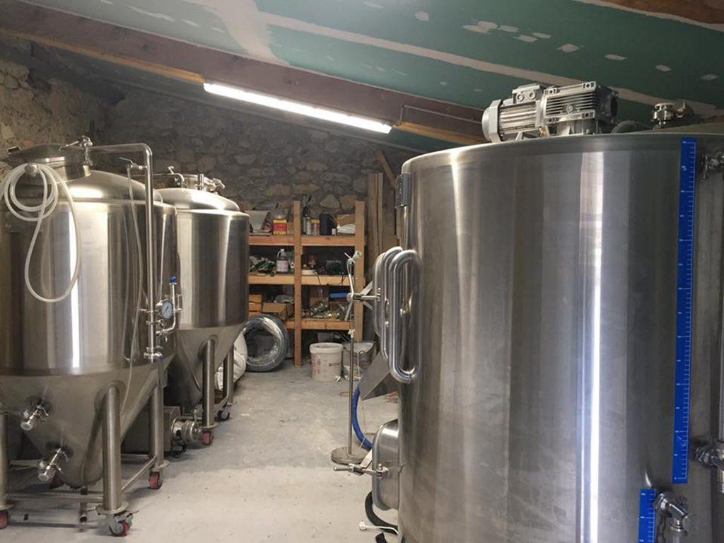 La Géante de Provence Beer Equipment Microbrewery Brantes Ventoux Provence