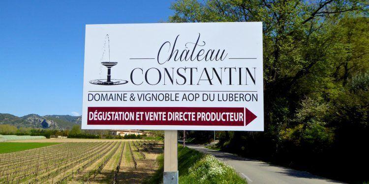 Le Château Constantin Wines Lourmarin Luberon
