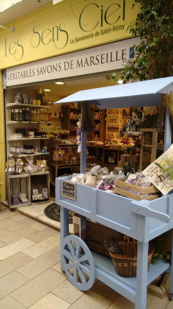 Provence Retirement Home Lavender-scented products abound in this sweet shop in Saint-Remy.