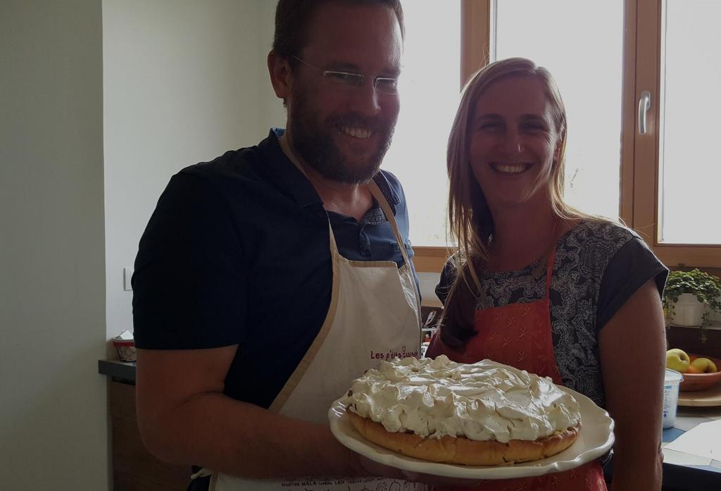 French Immersion Cooking Class Tarte au Citron
