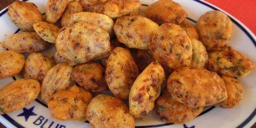 Madeleines Salées Savoury Appetizer