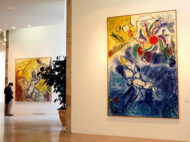 Musée National Marc Chagall Biblical Message Series