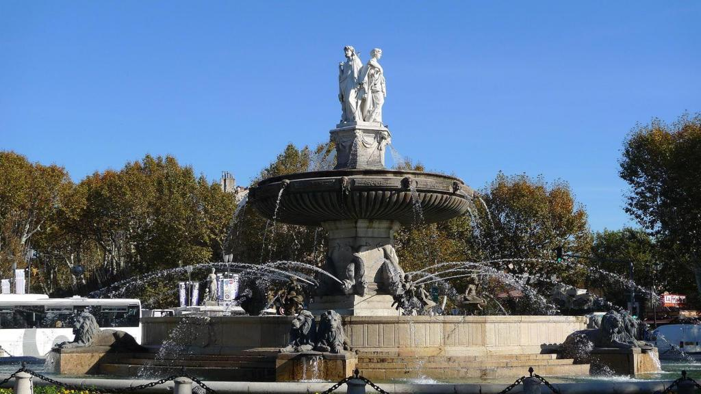 Aix-en-Provence City Guide La Rotonde Fountain