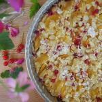 Red Currant Apricot Cake @LiveLoveProvence