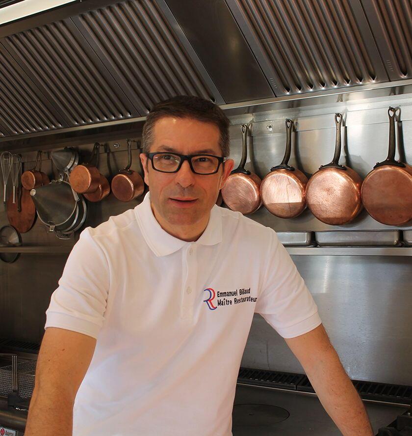 Clos St Roch Chef Emmanuel Billaud Maussane les Alpilles