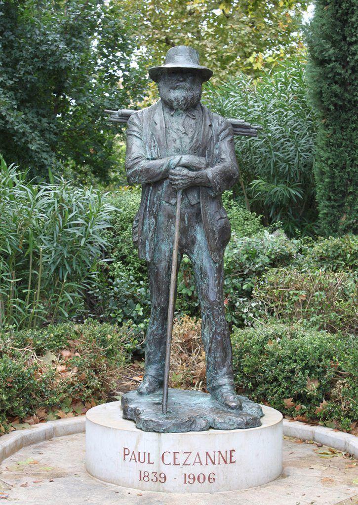 Paul Cezanne Sculptor Gabriël Sterk Aix-en-Provence