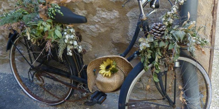 Expat Living Experiences Provence Bicycle Deborah Lawrenson