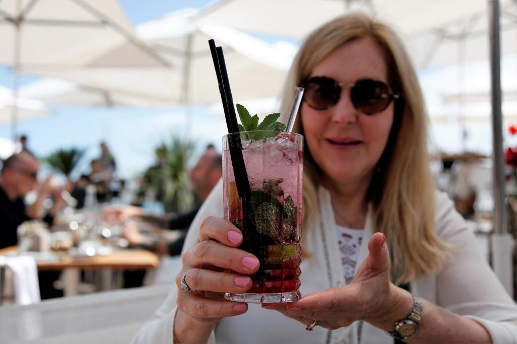 Red Carpet Mojito Tasha with RCM Cannes Film Festival