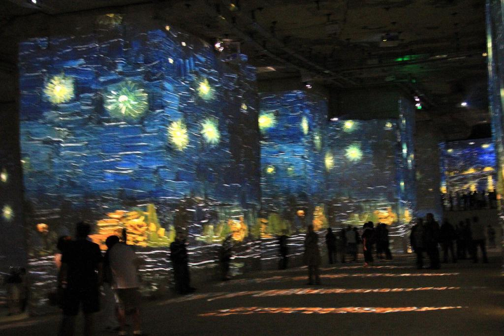 Vincent Van Gogh Carrieres des Lumieres Starry Nights