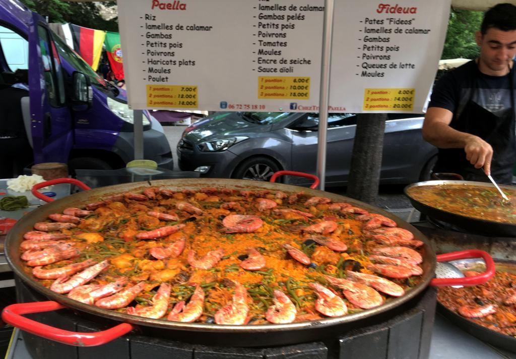 Arles Insiders Market Tour Paella
