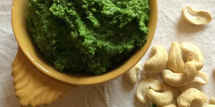 Recipe Arugula Pesto de Roquette