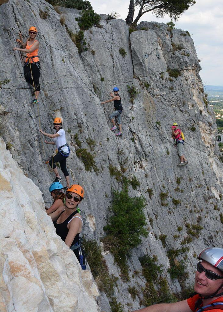 Family-Friendly Holidays Provence Via Ferrata Cavaillon