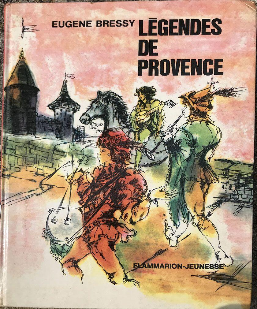 Legends of Provence Book Cover Provence Legends Tarasque Monster Tarascon